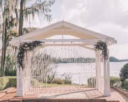 wedding backdrop canopy macrame wedding backdrop wedding arches macrame canopy