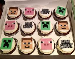 minecraft cupcakes minecraft cupcakes search birthday