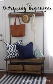 Entryway Coat Rack With Shoe Storage by Best 25 Entryway Bench Coat Rack Ideas On Pinterest Entryway