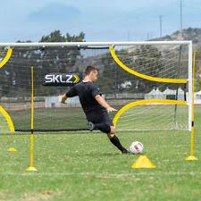 sklz quickster qb target portable passing trainer black friday football training equipment u0026 goals ebay