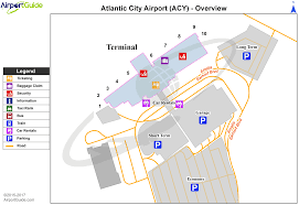 Atlanta Airport Gate Map by Atlantic City Atlantic City International Acy Airport Terminal