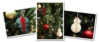 bits of paper 3d ornaments