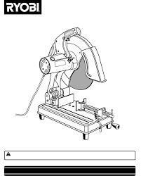 Ryobi Table Saw Manual Ryobi Saw C358 User Guide Manualsonline Com