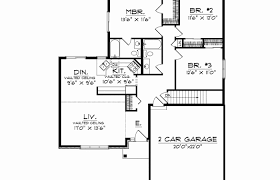 one house plan level house plans single floor one plan ranch style modern