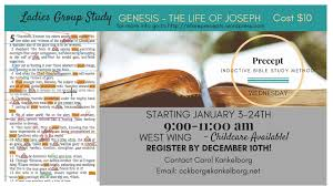 s precept bible study january 3rd evangelical free