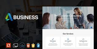 templates for business consultants business consulting multipurpose website template by seriflyforest