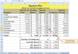 Budget Calculator Excel Spreadsheet Functions For Personal Finance