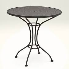 Black Bistro Table Black Bistro Table Bonners Furniture