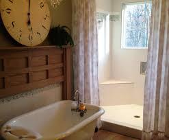 shower bathtub with shower stunning free standing tub shower
