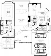 Master House Plans by Westdrake Traditional House Plans Daylight Basement Plans