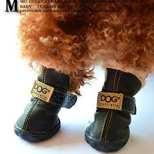 bichon frise uae colorfulhouse dog australia winter warm dog boots 4 pcs black 5