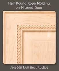 Cabinet Door Designs Adding Trim To Kitchen Cabinet Doors Panel Miter Trim 3 U2013 Custom
