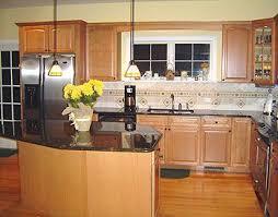 oak kitchen cabinets with oak flooring maple cabinets oak floors maple cabinets kitchen oak floors