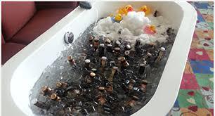 Bathtub Full Of Ice Bathtub Cooler Meetings U0026 Conventions