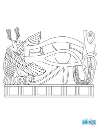 papyrus eye art coloring pages hellokids com