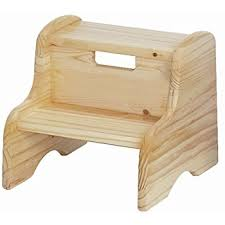 Wooden Step Stool Plans Free by Amazon Com Kidkraft Two Step Stool Natural Toys U0026 Games