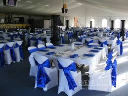 royal blue chair covers toowoomba hire event illusions bridal expo highfields