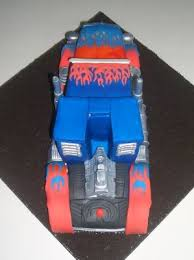 optimus prime cakes optimus prime transformers birthday cake geeky cake of the week