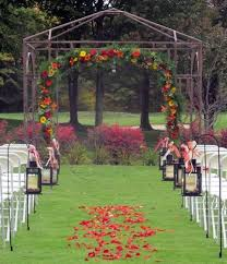 wedding arches outdoor 46 outdoor fall wedding arches happywedd