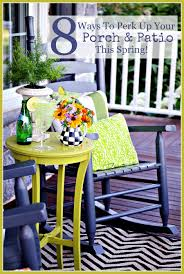 Spring Decorating Ideas For Your Front Door 8 Ways To Perk Up Your Porch And Patio This Spring Stonegable