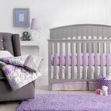 Purple Bedding For Cribs Trend Lab Medallion Crib Bedding Set Purple For And