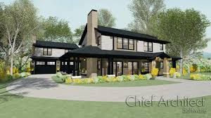 Asian Style House Plans Chief Architect Home Design Software Samples Gallery