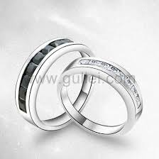 couples ring sets name engravable sterling silver rings set for 2