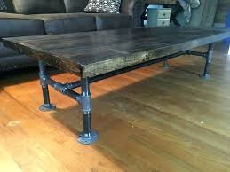 wood and pipe table galvanized pipe table black pipe furniture reclaimed wood and black