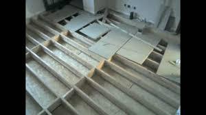 Underfloor Heating For Wood Laminate Floors Existing Build Install Of Underfloor Water Heating Youtube