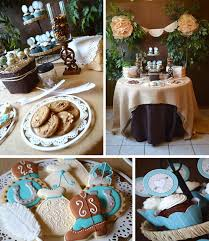 country bridal shower ideas kara s party ideas shabby chic western wedding bridal shower ideas