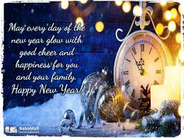 greeting for new year wish your loved ones a happy new year spirituality babamail