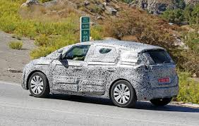 renault scenic spyshots 2017 renault scenic production model seen for the first
