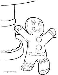 gingerbread baby coloring pages trend man page on for adults with