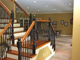 basement staircase wall decorating ideas best basement stairs