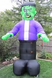Halloween Outdoor Decorations Ebay by Frankenstein 12 Foot Inflatable Lighted Outdoor Halloween Yard