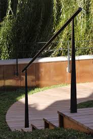 Patio Handrails by 21 Best Porch Stair Railing Concepts Images On Pinterest Stair