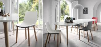 Table Ronde Extensible Blanche by Table Ovale Blanche On Decoration D Interieur Moderne Oqui Ovale