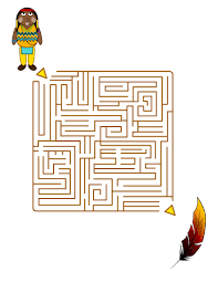 thanksgiving games printable native american quest for feathers online games hellokids com