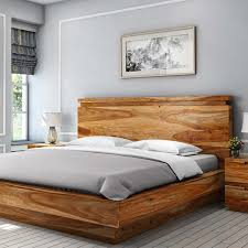 Wood Platform Bed Simplicity Solid Wood Platform Bed