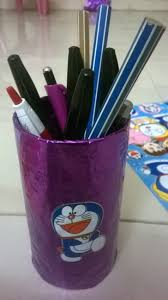 simple and easy pen stand making from waste material youtube