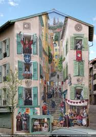 fake facades by patrick commecy amazing pictures pinterest a mural at the town of le puy en velay french artist patrick commecy and his team of muralists transform dull and boring facades around france into