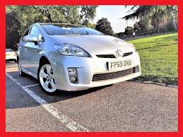 uk prius 2010 toyota prius 1 8 t4 hybrid auto full leather