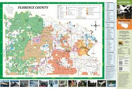 Wisconsin County Maps by Explore Florence County Tourism Resources Maps U0026 Brochures