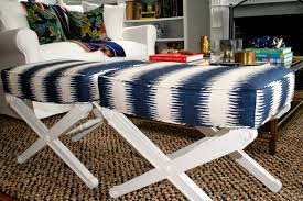 re upholstered vintage x benches home with keki