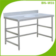 Stainless Kitchen Work Table by Restaurant Cleaning Equipment Stainless Steel Work Table With