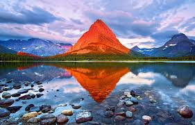 Montana national parks images Mount grinnell glacier national park montana photo one big photo jpg