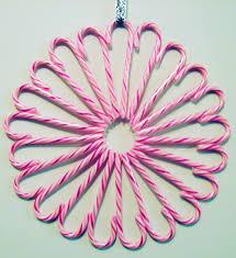 diy candy cane wreath make something mondays