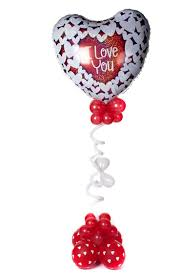 heart balloon bouquet dizzy heart balloon bouquet party fever