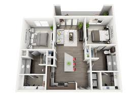 Dog Grooming Salon Floor Plans Luxe Apartments In Medical District Dallas Tx Home Century