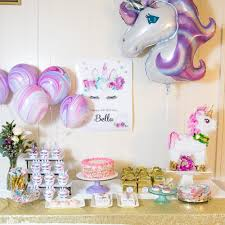 unicorn party supplies sparkling unicorn party supplies and inspiration tinselbox